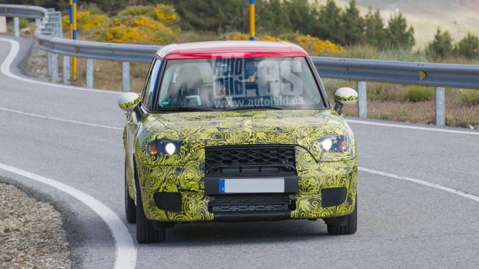 Mini Countryman híbrido enchufable frontal