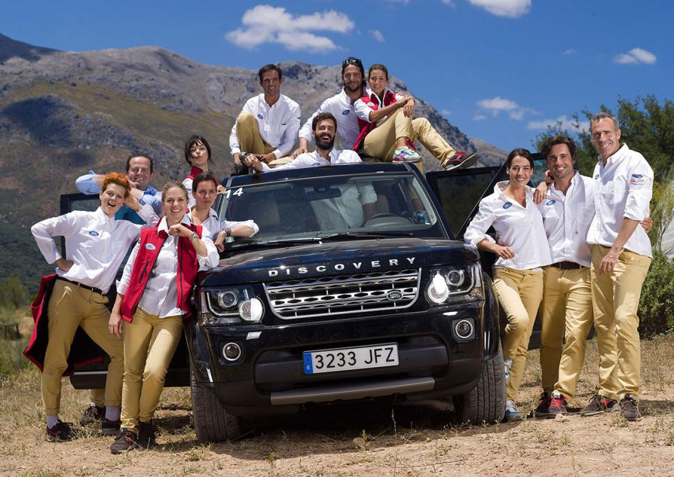 Land Rover Discovery Challenge 2015 concursantes