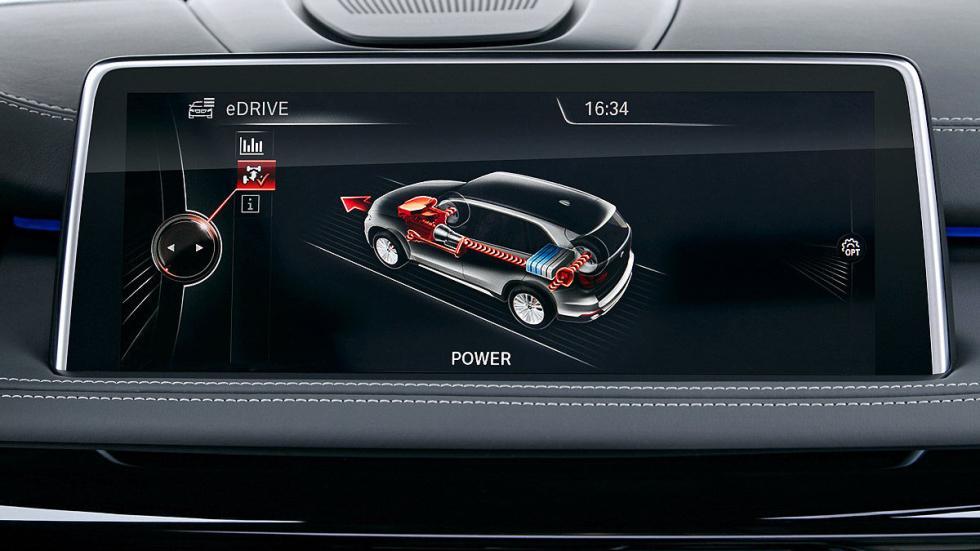 BMW X5 xDrive40e (2015) pantalla