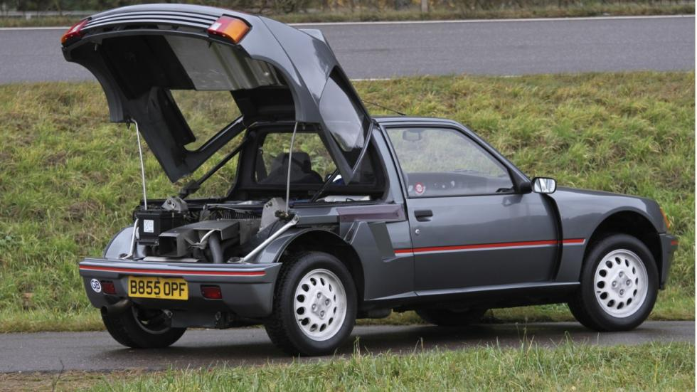 Peugeot 205 Turbo 16 en fotos