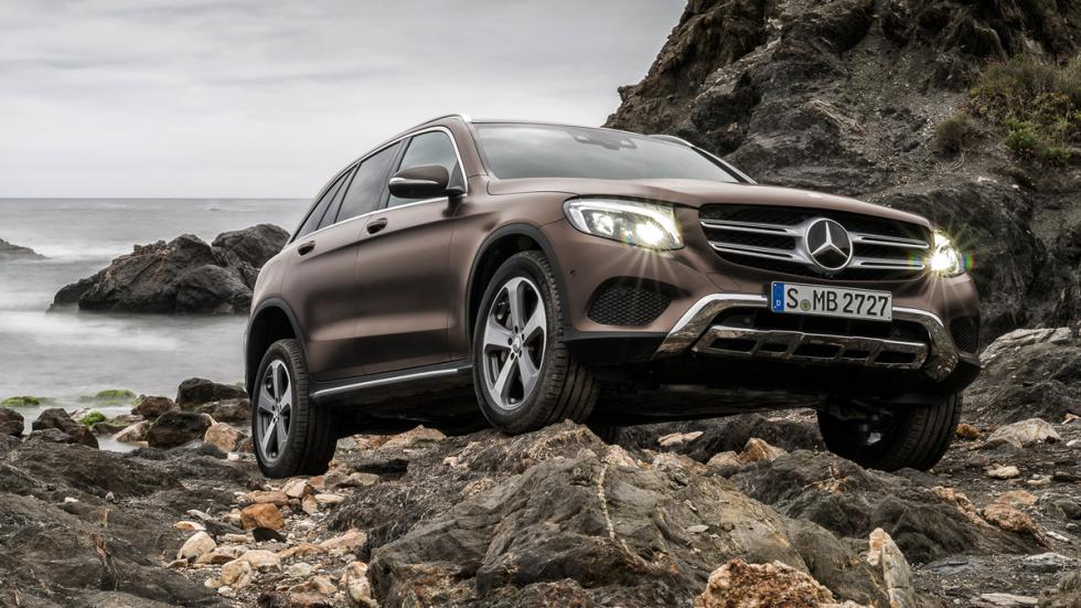 Mercedes GLC frontal