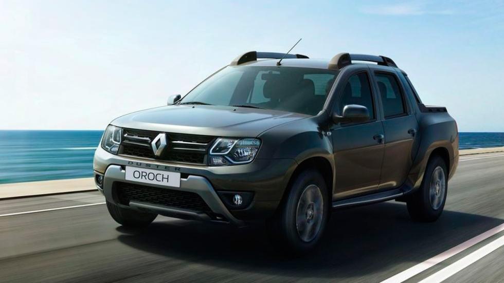 Dacia Duster Oroch definitivo frontal