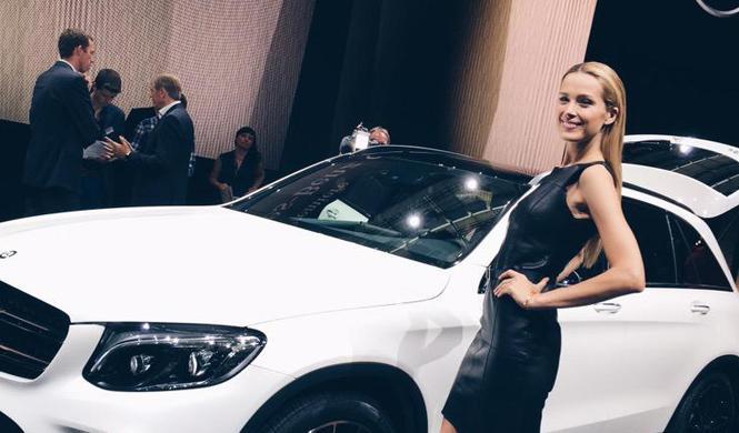 Petra Nemcova Mercedes GLC 1