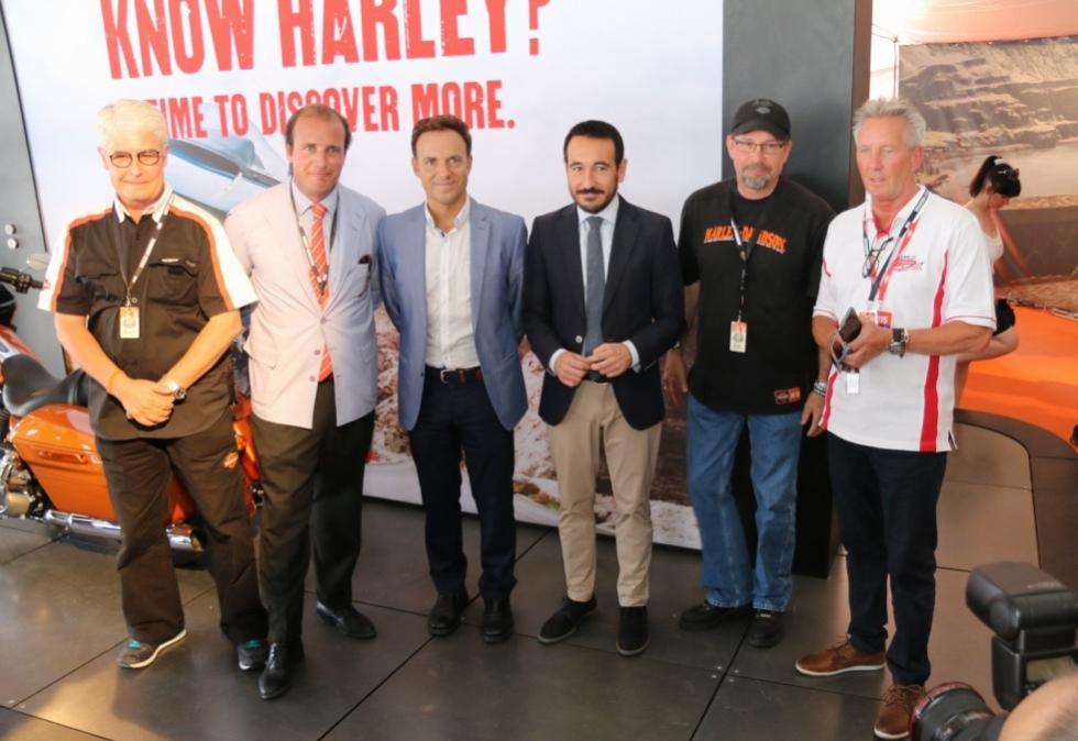Rally Harley Davidson HOG 2015. Inauguración.