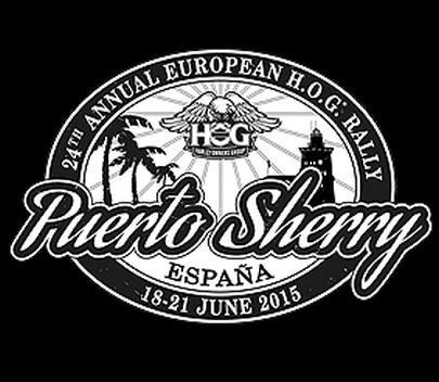 Rally Harley Davidson HOG 2015 . Escudo.