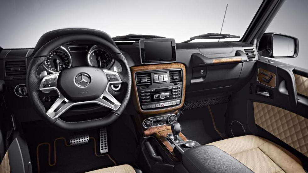 Mercedes clase g 2018 nuevas fotos y datos antes de su for Interior mercedes clase a