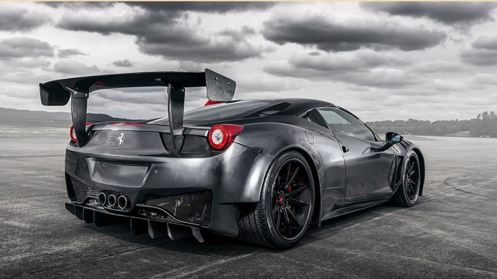 Ferrari 458 Stazzito trasera