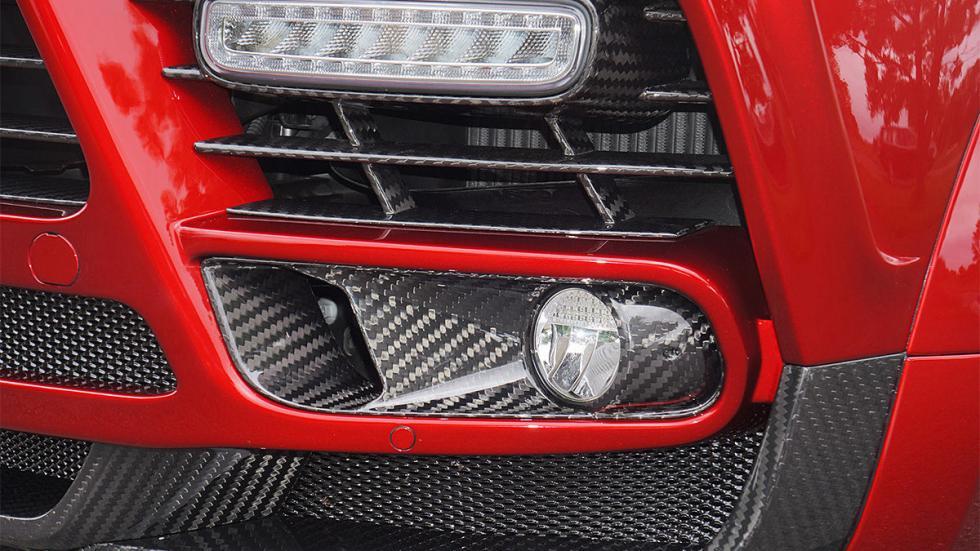 Porsche Cayenne Turbo S de Mansory antiniebla