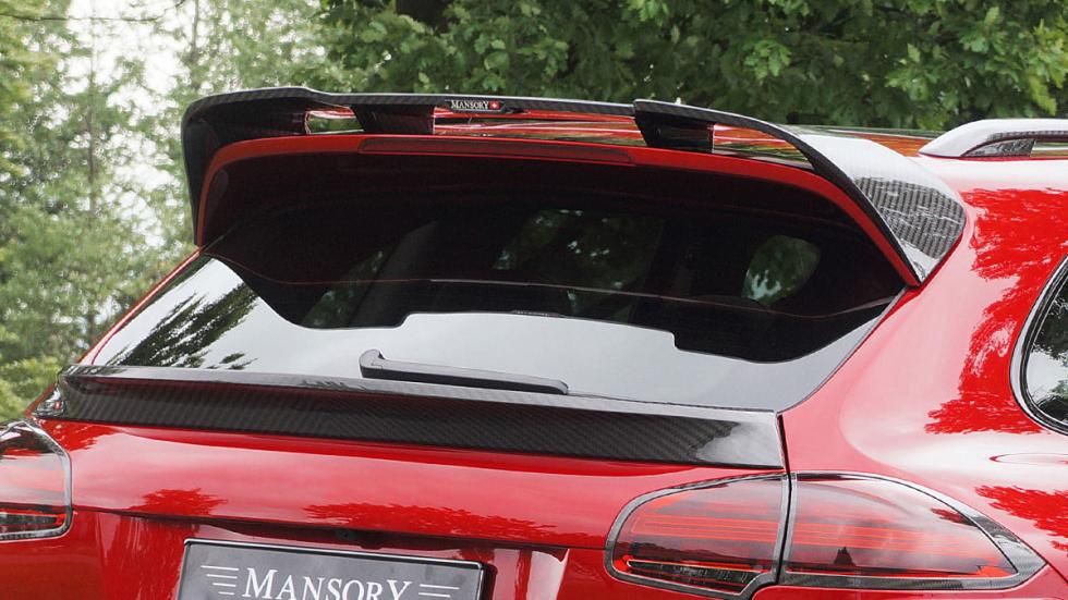 Porsche Cayenne Turbo S de Mansory alerón