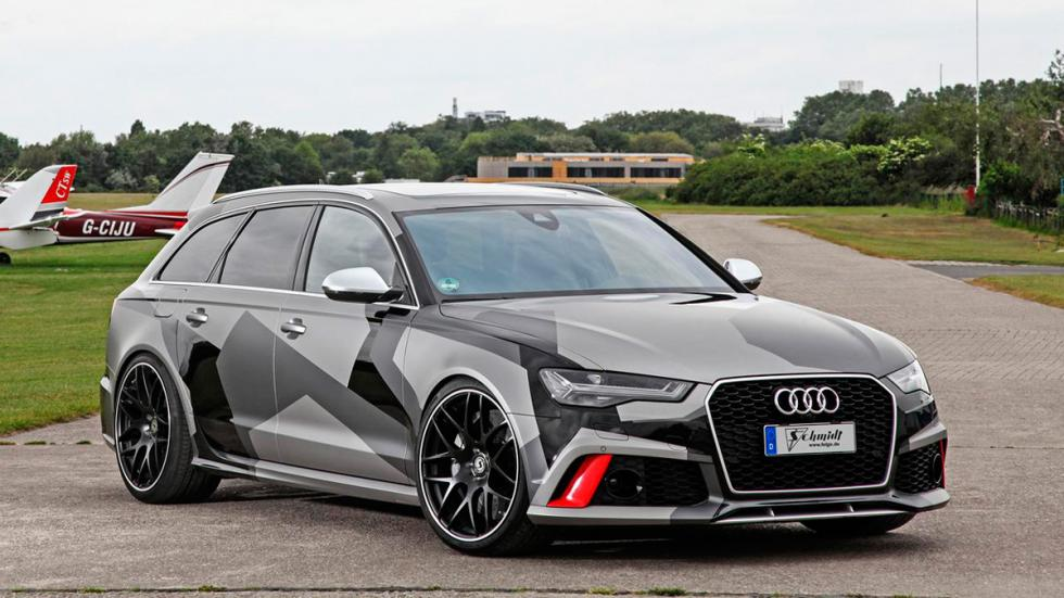 Audi RS6 Avant Schimdt Revolution frontal