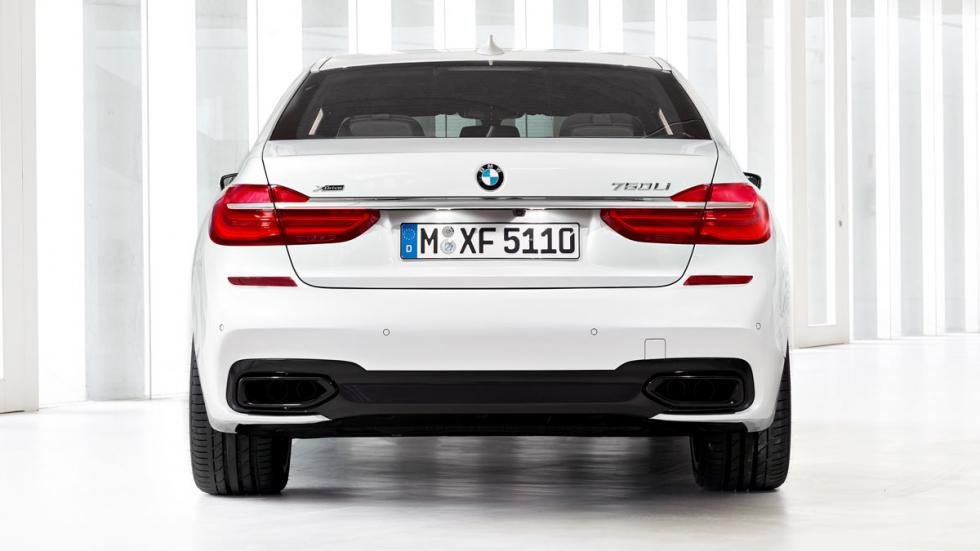 BMW Serie 7 paquete M trasera