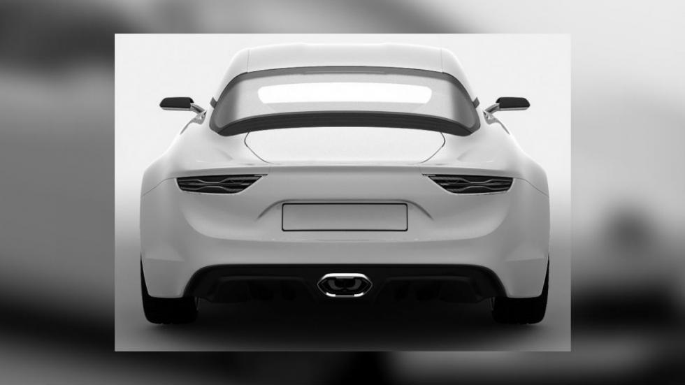 Imágenes de la patente del Renault Alpine 2016