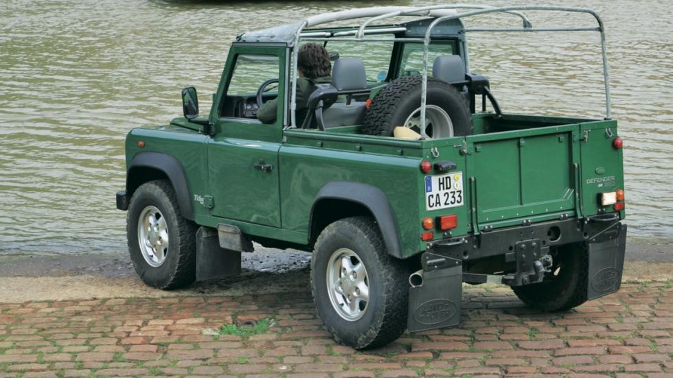 Fotos de Land Rover Defender 90 Softop