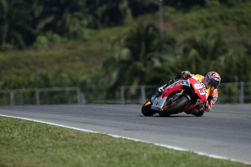 Marc Marquez en curva