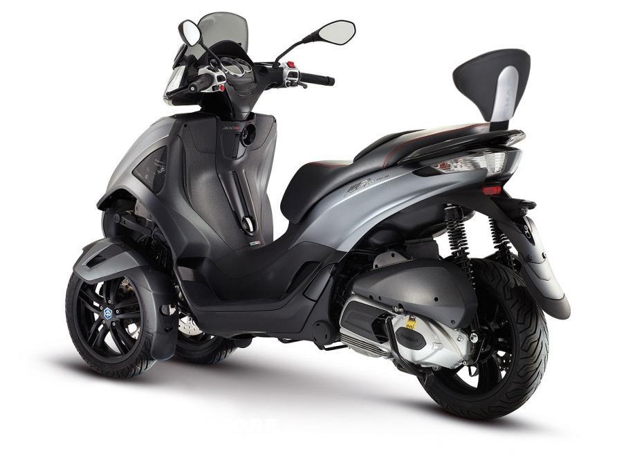 Respaldos Shad para scooter instalado.