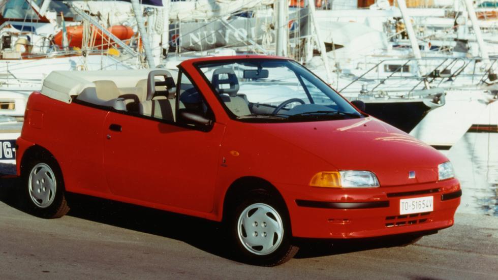Fiat Punto Cabrio delantera