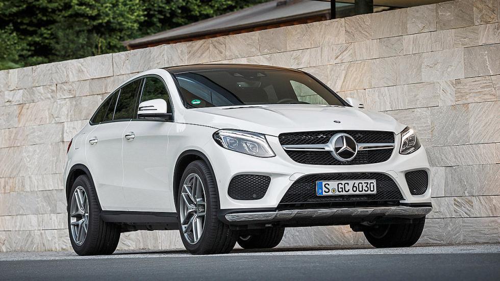 Prueba: Mercedes GLE estática
