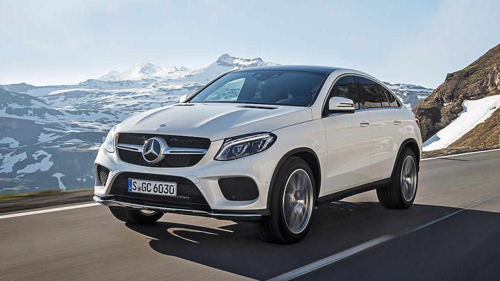 Prueba: Mercedes GLE dinámica