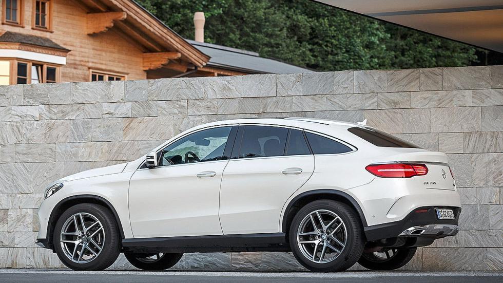 Prueba: Mercedes GLE lateral