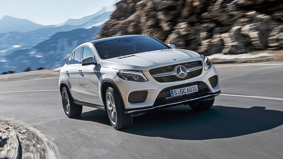 Prueba: Mercedes GLE lateral carretera