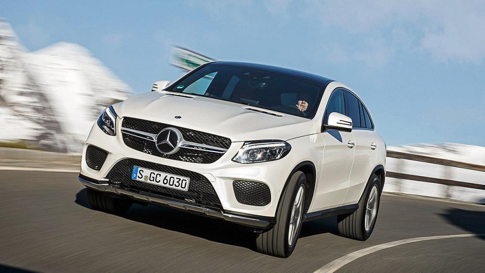 Prueba: Mercedes GLE detalle morro
