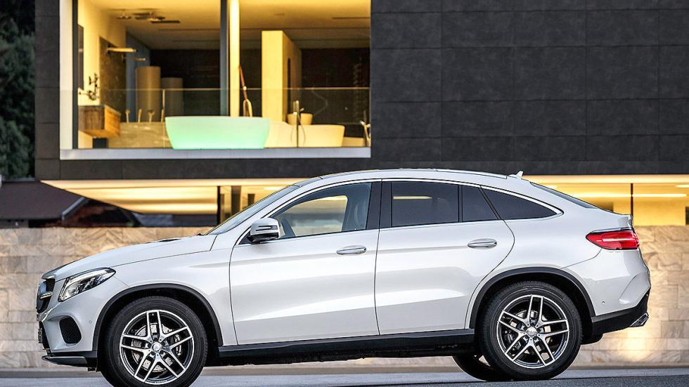 Prueba: Mercedes GLE detalle lateral