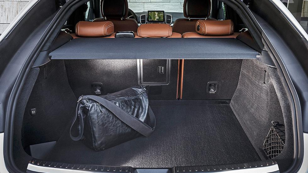 Prueba: Mercedes GLE detalle maletero