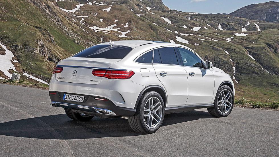 Prueba: Mercedes GLE detalle zaga