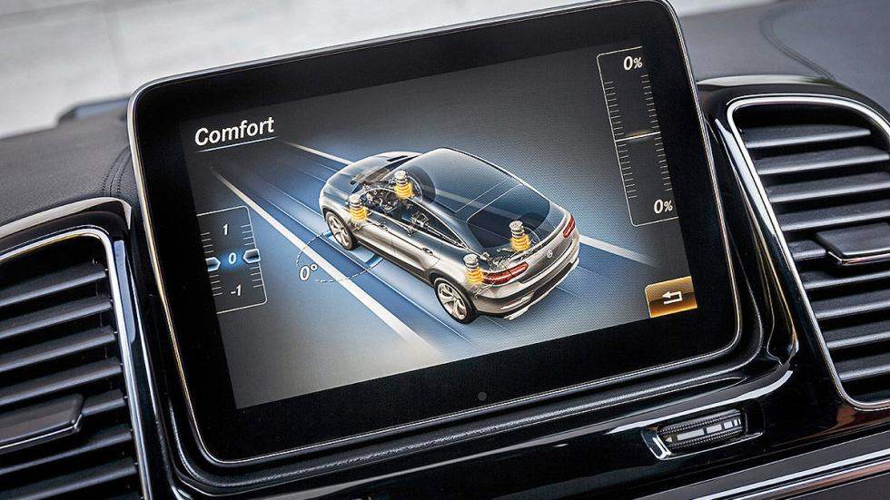 Prueba: Mercedes GLE detalle pantalla