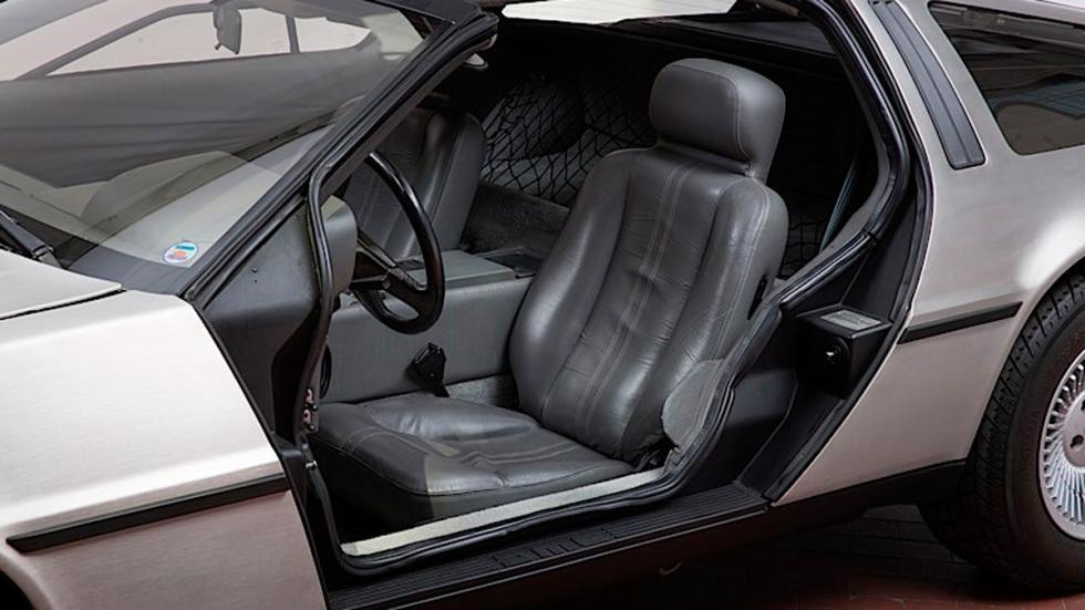 DeLorean subasta asientos