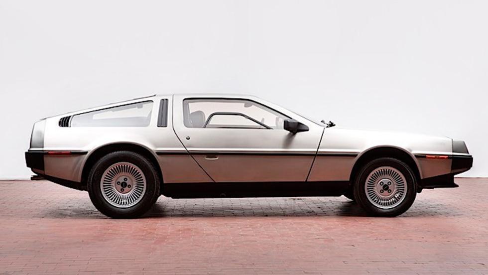 DeLorean subasta perfil