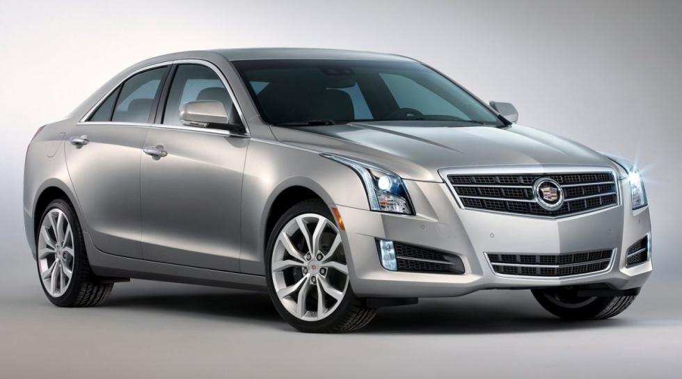 Cadillac ATS delantera