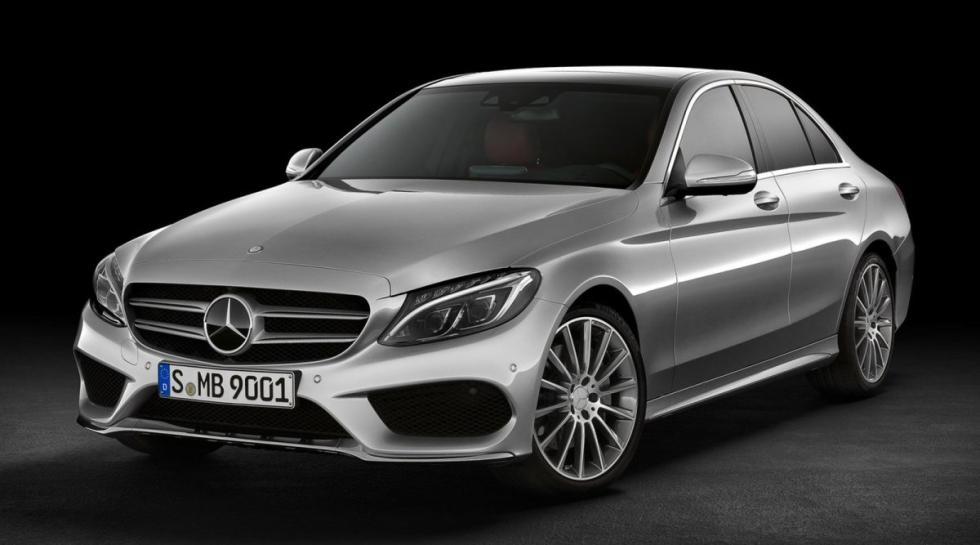 Mercedes Clase C delantera