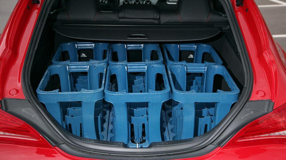 Mercedes CLA Shooting Brake 220 CDI maletero