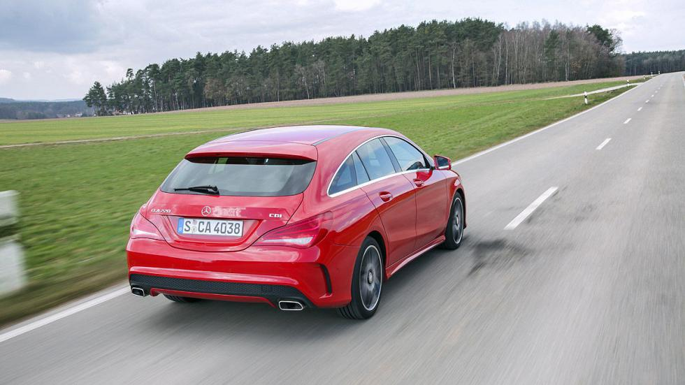 Mercedes CLA Shooting Brake 220 CDI maletero zaga