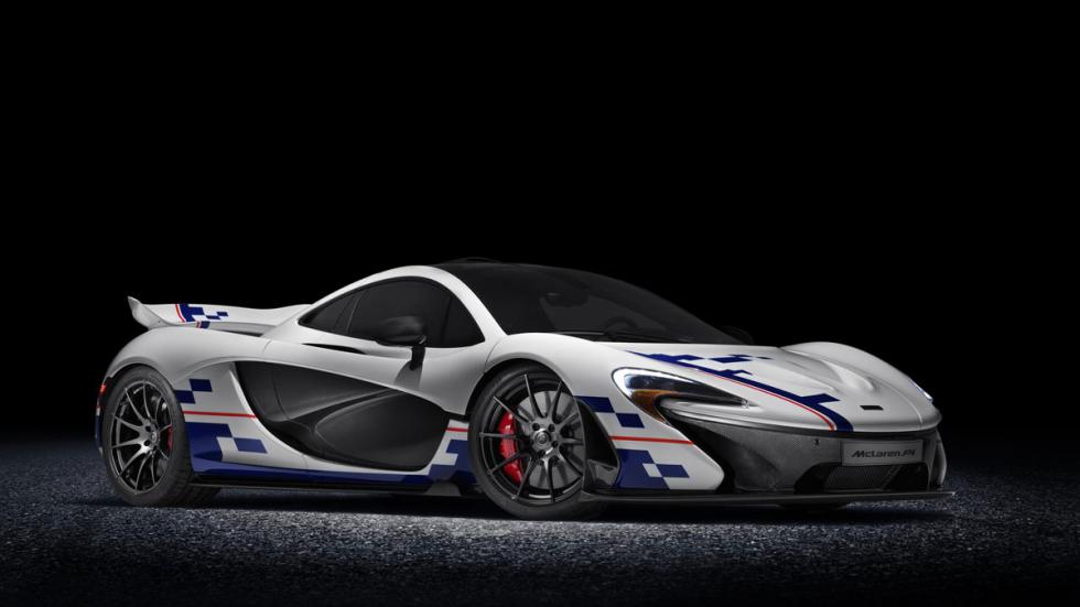 McLaren P1 Prost goodwood