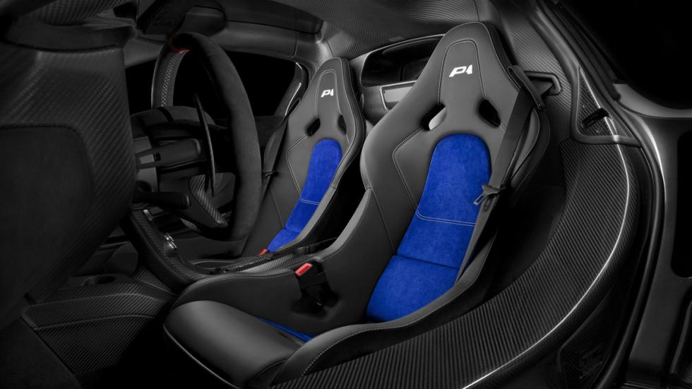 McLaren P1 Prost goodwood interior