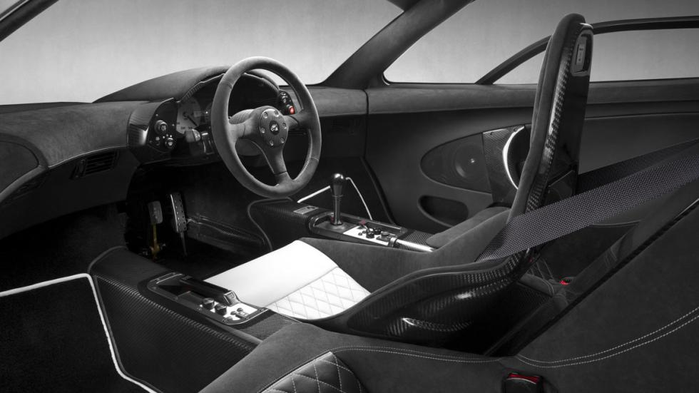 McLaren F1 GT interior
