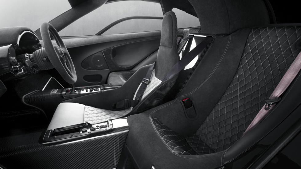 McLaren F1 GT asientos