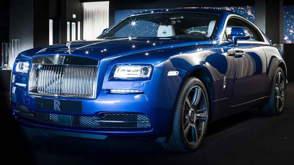 Rolls Royce Porto Cervo Wraith tres cuartos delanteros