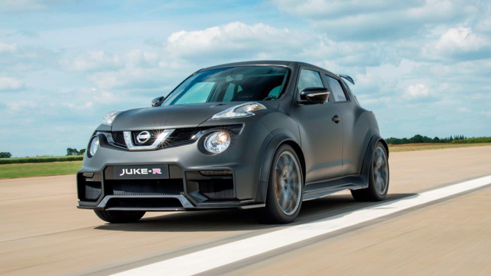 Nissan Juke-R 2.0 tres cuartos delanteros