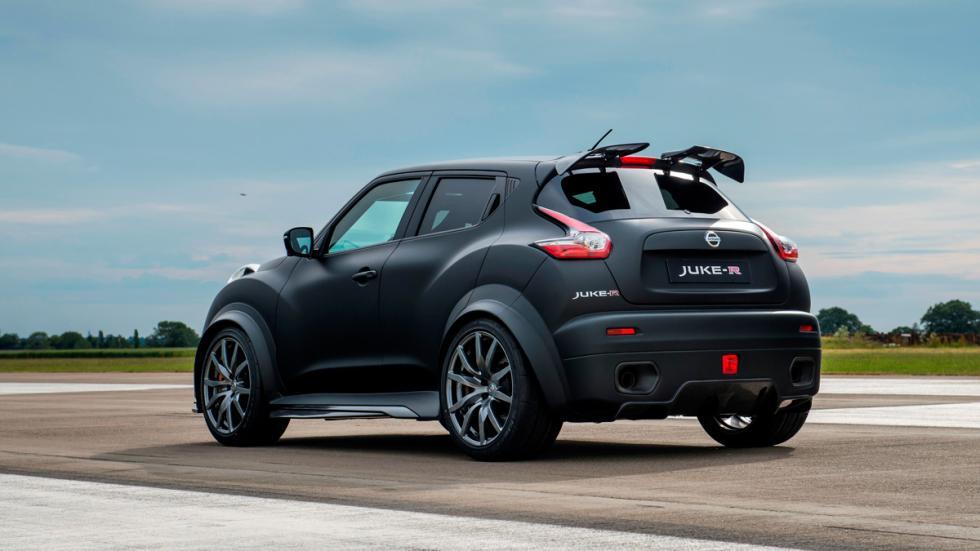 Nissan Juke-R 2.0 tres cuartos traseros