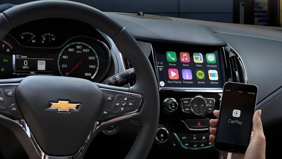 Chevrolet Cruze 2016 carplay