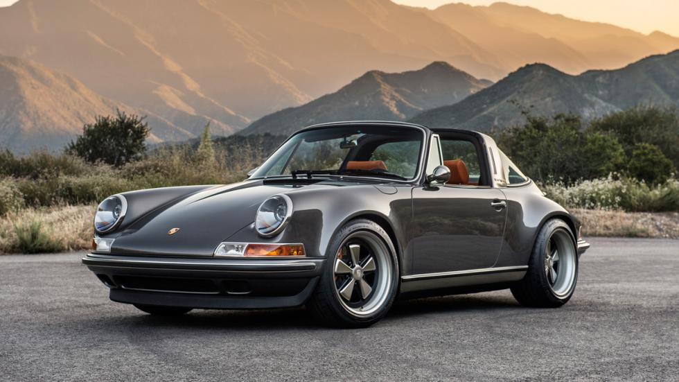 Porsche 911 Targa Singer delantera