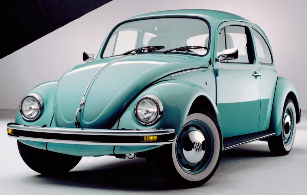 VW Escarabajo delantera