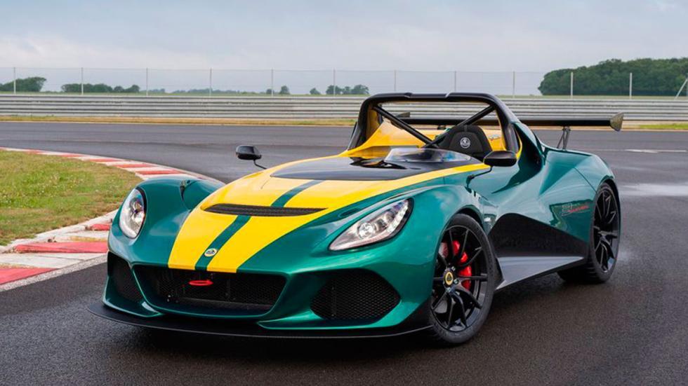 Lotus 3-Even trs cuartos delanteros
