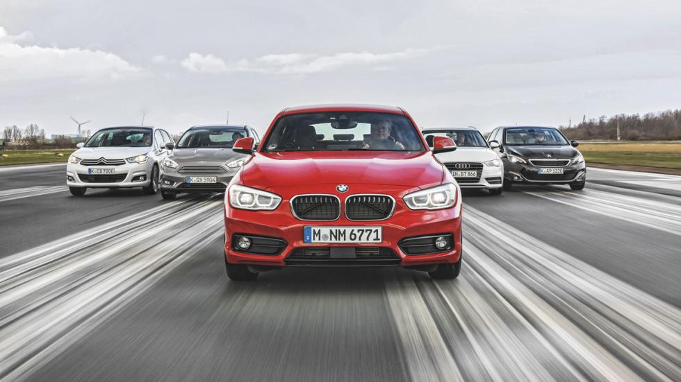 Comparativa bmw 116d/Citroën C4/Ford Focus/Peugeot 308