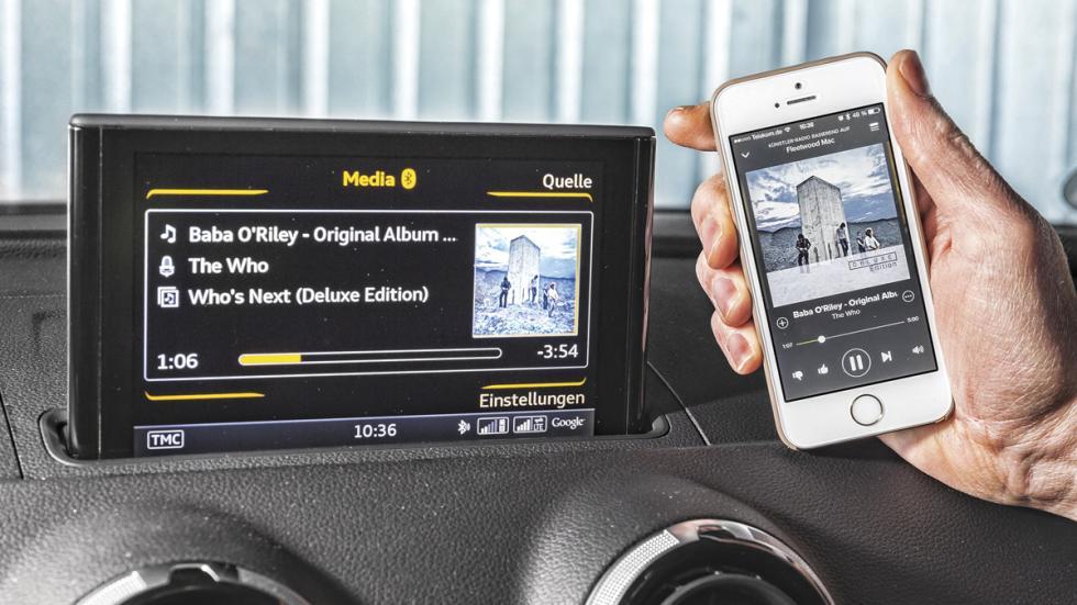 Audi A3 conectividad