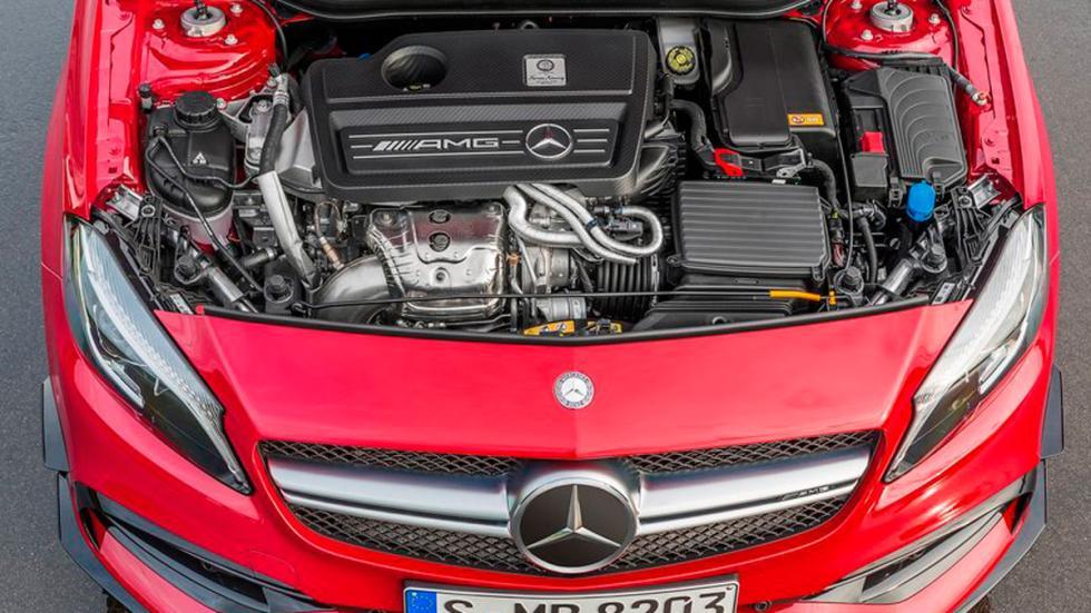 Mercedes A45 AMG motor