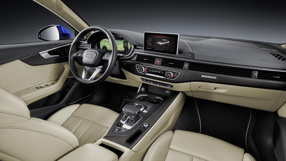 Audi A4 2015 interior
